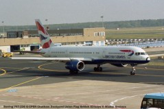 017 Boeing 757-236 G-CPEN Chatham Dockyard Union Flag British Airways © Michel Anciaux