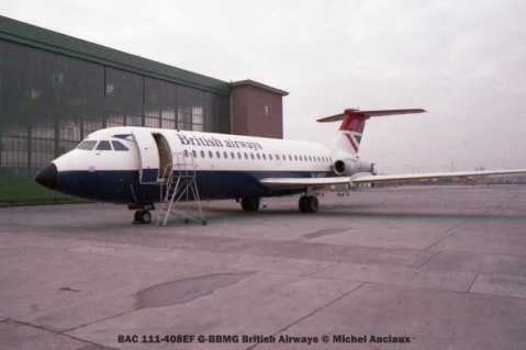018 BAC 111-408EF G-BBMG British Airways © Michel Anciaux