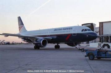 019 Airbus A320-211 G-BUSH British Airways © Michel Anciaux