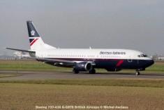 024 Boeing 737-436 G-GBTB British Airways © Michel Anciaux