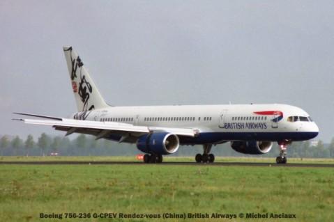 028 Boeing 756-236 G-CPEV Rendez-vous (China) British Airways © Michel Anciaux