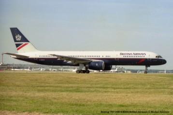 031 Boeing 757-236 G-BIKS British Airways © Michel Anciaux