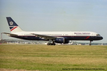 031 Boeing 757-236 G-BIKS British Airways © Michel Anciaux