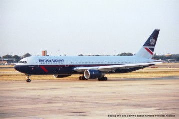 032 Boeing 767-336 G-BNWY British Airways © Michel Anciaux
