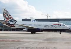 20917 Boeing 737-236 G-BGDO Whale Rider (Canada) British Airways © Luc Barry