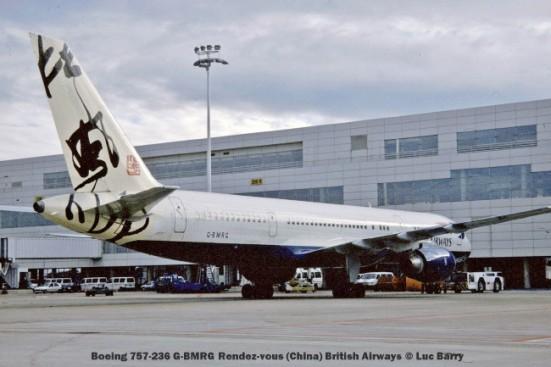 21522C Boeing 757-236 G-BMRG Rendez-vous (China) British Airways © Luc Barry