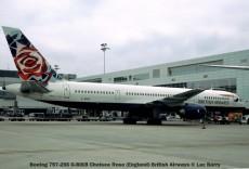 21595C Boeing 757-256 G-BIKB Chelsea Rose (England) British Airways © Luc Barry