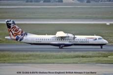 22060C ATR 72-202 G-BVTK Chelsea Rose (England) British Airways © Luc Barry
