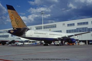 22200c Boeing 757-236 G-BMRA Paithani (India) British Airways © Luc Barry