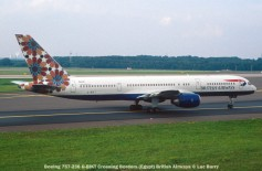 24497C Boeing 757-236 G-BIKT Crossing Borders (Egypt) British Airways © Luc Barry