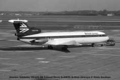 3 Hawker Siddeley HS121 3B Trident Three G-AWZS British Airways © Alain Anciaux