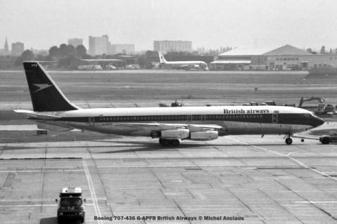 7 Boeing 707-436 G-APFB British Airways © Michel Anciaux