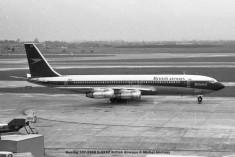 9 Boeing 707-336B G-AXXZ British Airways © Michel Anciaux
