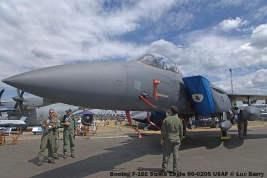DSC07267 Boeing F-15E Strike Eagle 96-0205 USAF © Luc Barry