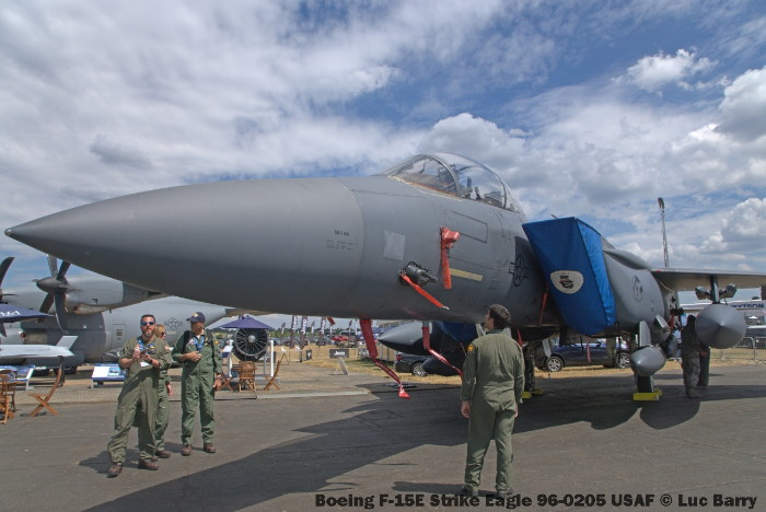 DSC07267 Boeing F-15E Strike Eagle 96-0205 USAF © Luc Barry