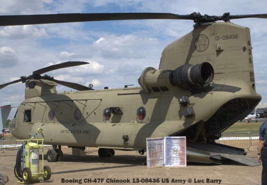 DSC07272 Boeing CH-47F Chinook 13-08436 US Army © Luc Barry