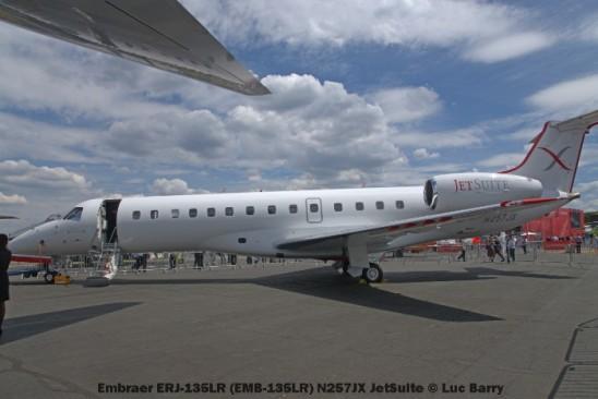 DSC07279 Embraer ERJ-135LR (EMB-135LR) N257JX JetSuite © Luc Barry