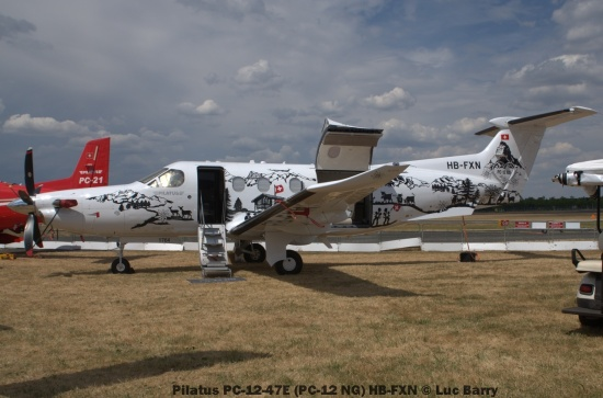 DSC07285 Pilatus PC-12-47E (PC-12 NG) HB-FXN © Luc Barry