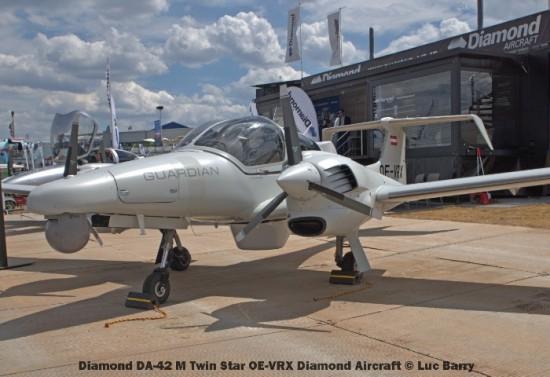 DSC07286 Diamond DA-42 M Twin Star OE-VRX Diamond Aircraft © Luc Barry