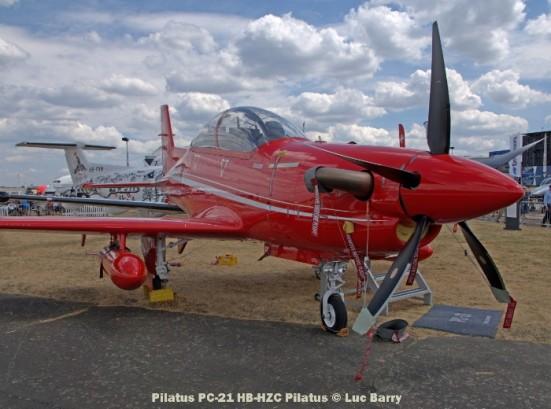 DSC07288 Pilatus PC-21 HB-HZC Pilatus © Luc Barry