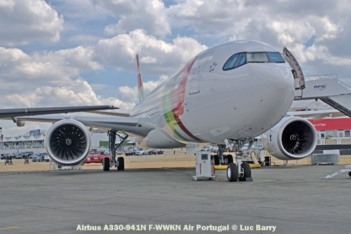 DSC07297 Airbus A330-941N F-WWKN Air Portugal © Luc Barry