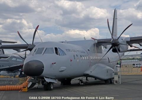 DSC07298 CASA C-295M 16703 Portugal - Air Force © Luc Barry