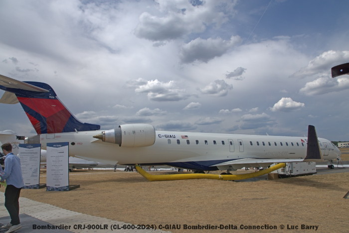 DSC07305 Bombardier CRJ-900LR (CL-600-2D24) C-GIAU Bombrdier-Delta Connection © Luc Barry