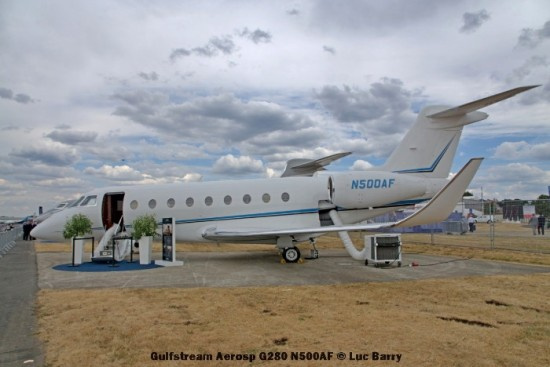 DSC07313 Gulfstream Aerosp G280 N500AF © Luc Barry