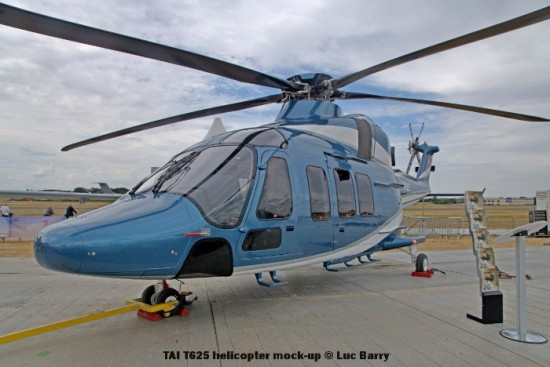 DSC07317 TAI T625 helicopter mock-up © Luc Barry