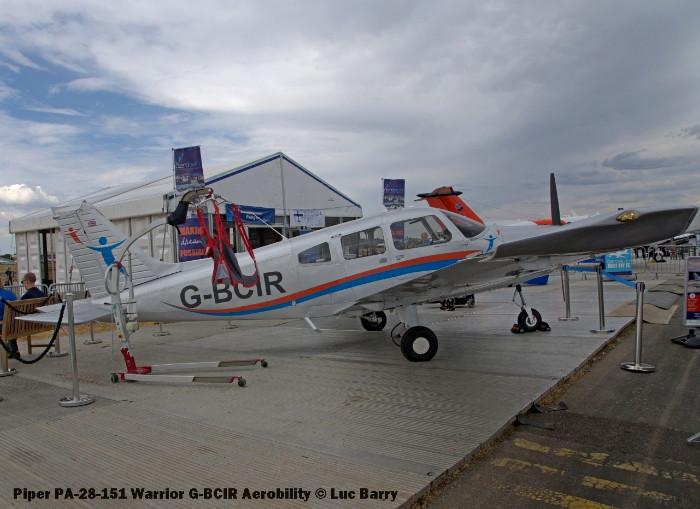 DSC07323 Piper PA-28-151 Warrior G-BCIR Aerobility © Luc Barry