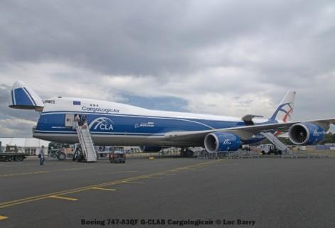 DSC07331 Boeing 747-83QF G-CLAB Cargologicair © Luc Barry