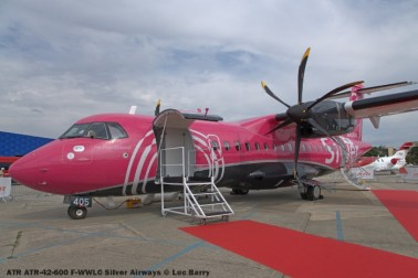 DSC07351 ATR ATR-42-600 F-WWLC Silver Airways © Luc Barry
