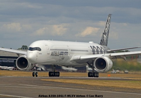 DSC07440 Airbus A350-1041 F-WLXV Airbus © Luc Barry