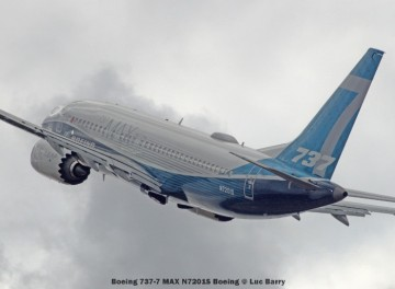 DSC07508A Boeing 737-7 MAX N7201S Boeing © Luc Barry