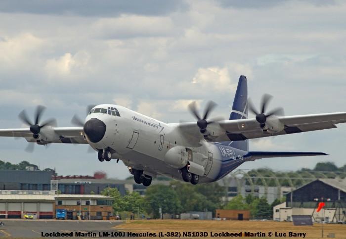 DSC07542 Lockheed Martin LM-100J Hercules (L-382) N5103D Lockheed Martin © Luc Barry