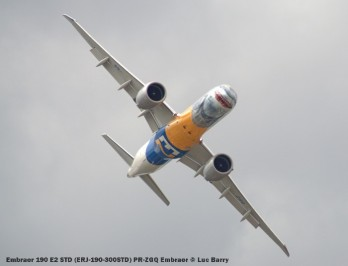 DSC07593 Embraer 190 E2 STD (ERJ-190-300STD) PR-ZGQ Embraer © Luc Barry