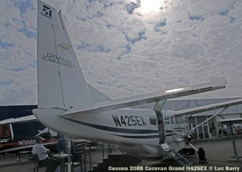 DSC07674 Cessna 208B Caravan Grand N425EX © Luc Barry