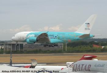 DSC07780 Airbus A380-841 9H-MIP Hi Fly Malta © Luc Barry