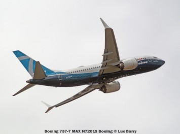 DSC08677 Boeing 737-7 MAX N7201S Boeing © Luc Barry