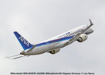 DSC08723 Mitsubishi MRJ-90STD JA23MJ Mitsubishi-All Nippon Airways © Luc Barry