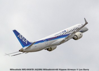 DSC08723 Mitsubishi MRJ-90STD JA23MJ Mitsubishi-All Nippon Airways © Luc Barry