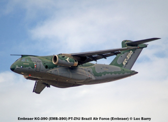 DSC08744 Embraer KC-390 (EMB-390) PT-ZNJ Brazil Air Force (Embraer) © Luc Barry
