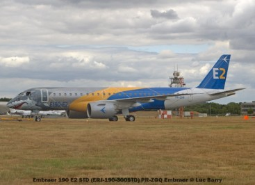 DSC08810 Embraer 190 E2 STD (ERJ-190-300STD) PR-ZGQ Embraer © Luc Barry