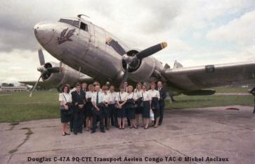 img06 Douglas C-47A 9Q-CYE Transport Aerien Congo TAC © Michel Anciaux
