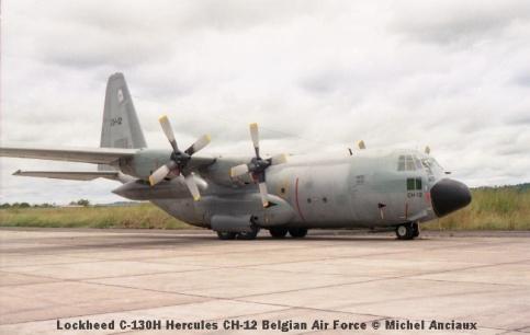 img1002 Lockheed C-130H Hercules CH-12 Belgian Air Force © Michel Anciaux