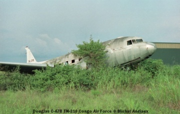 img1005 Douglas C-47B TN-210 Congo Air Force © Michel Anciaux