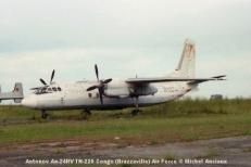 img1008 Antonov An-24RV TN-220 Congo (Brazzaville) Air Force © Michel Anciaux