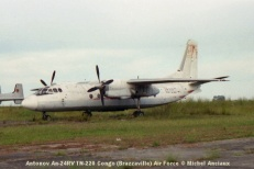 img1008 Antonov An-24RV TN-220 Congo (Brazzaville) Air Force © Michel Anciaux
