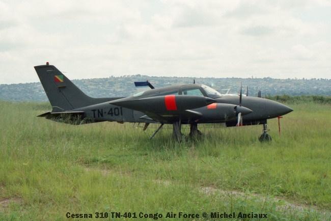 img1012 Cessna 310 TN-401 Congo Air Force © Michel Anciaux