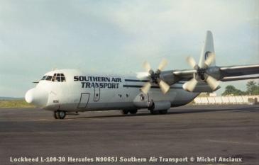 img1014 Lockheed L-100-30 Hercules N906SJ Southern Air Transport © Michel Anciaux